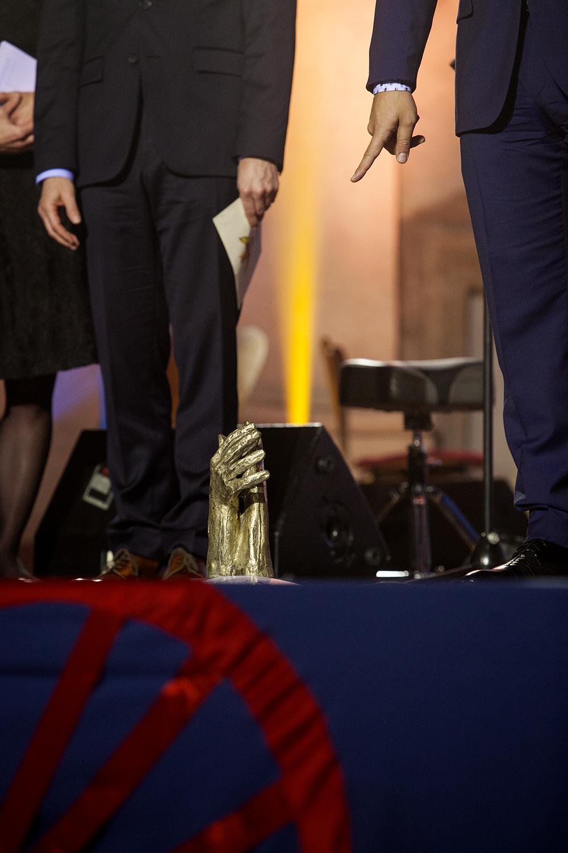 Richard Samko převzal cenu v kategorii Média.
