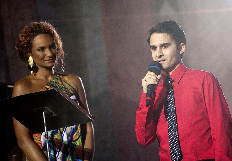 Lejla Abbasová a Radek Banga.