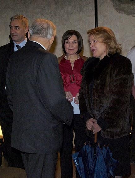 Hosté: Andrej Mirga, Lubomíra Slušná Franz, Magdaléna Vášáryová, členky a člen hlavní poroty.