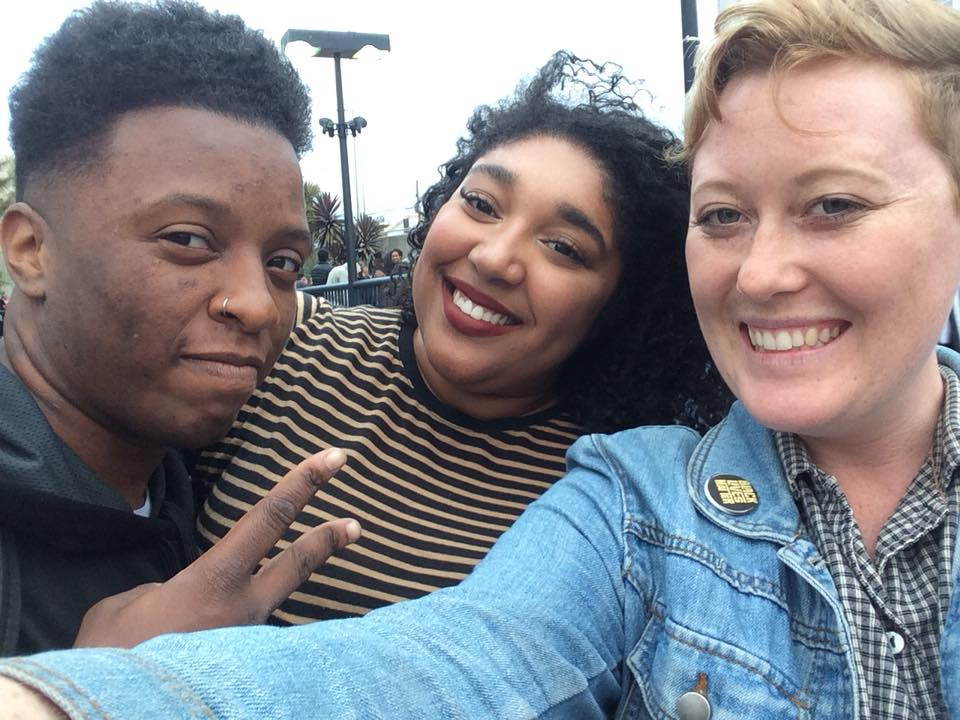 Kalu, Kayla, and Dylan (friends of the blog)