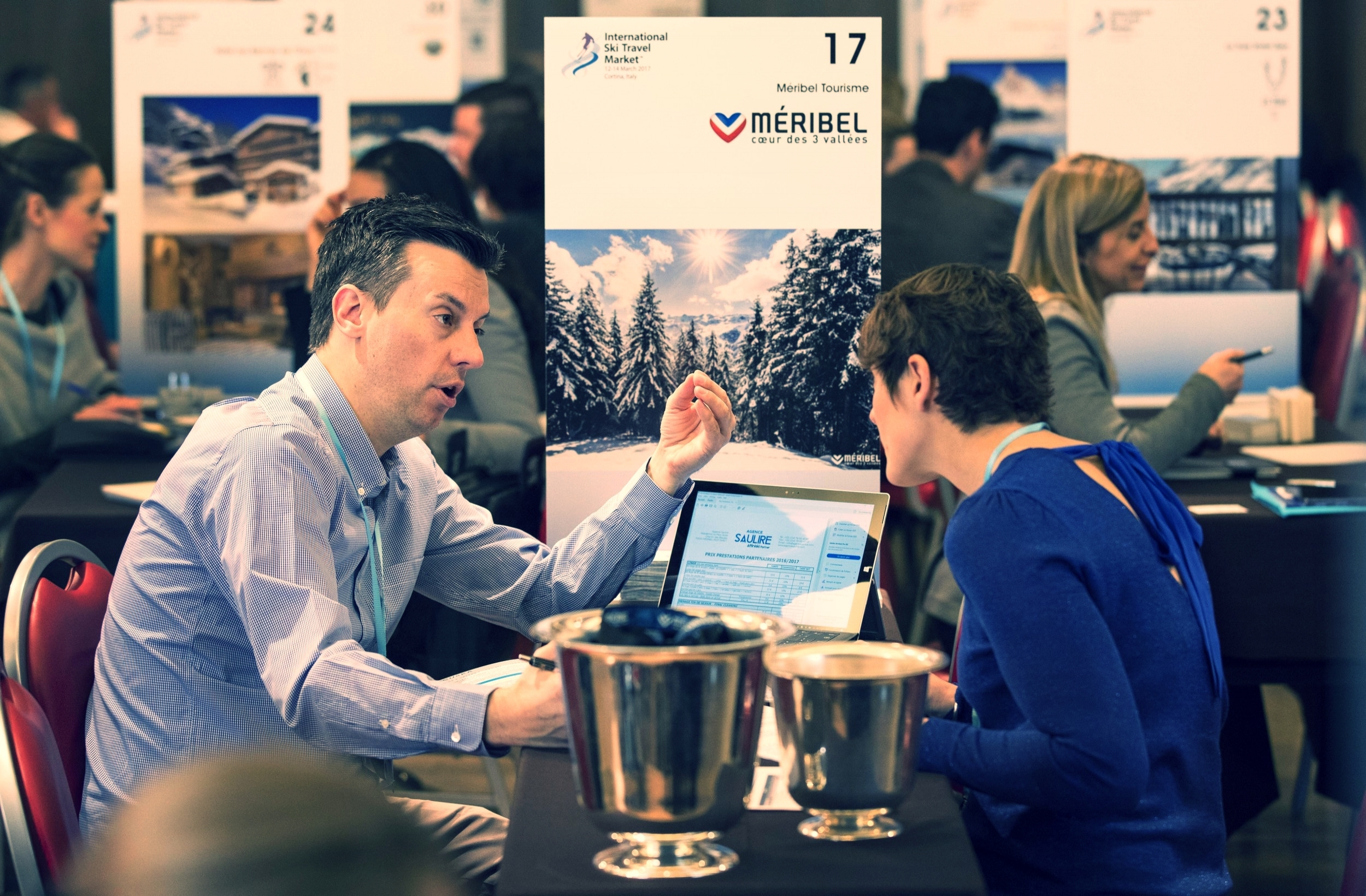 JOIN ISTM AS AN EXHIBITOR - We put qualified international buyers right across the table from you. We provide focused and targeted pre-scheduled meetings with the power to transform your business.