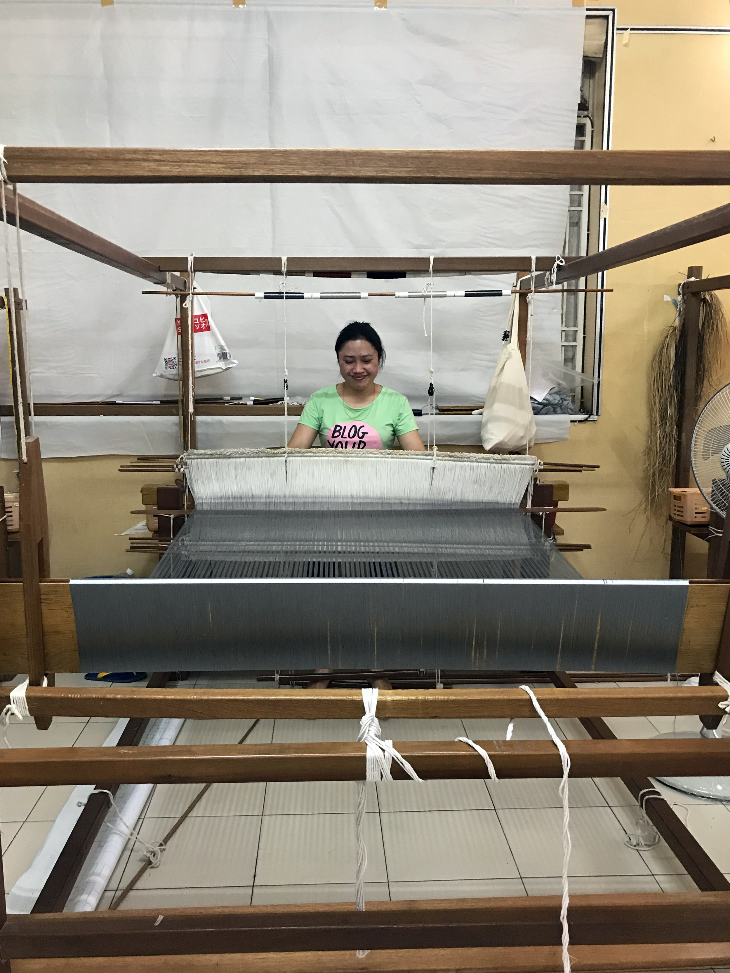 Weaving for The Capitol Kempinski Hotel project