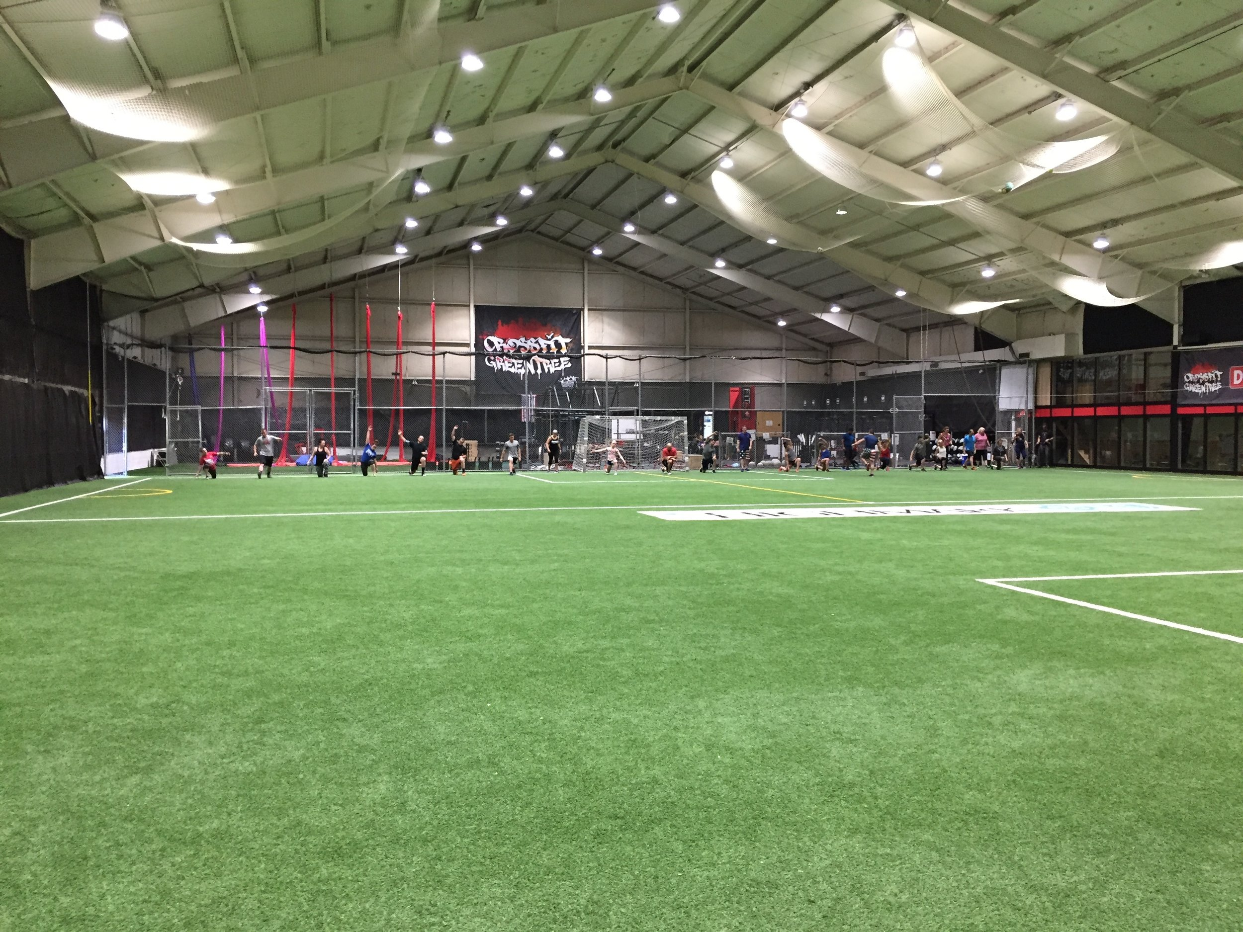 Fitness Field - Rates:Dimensions:How to book a time slot on this field: