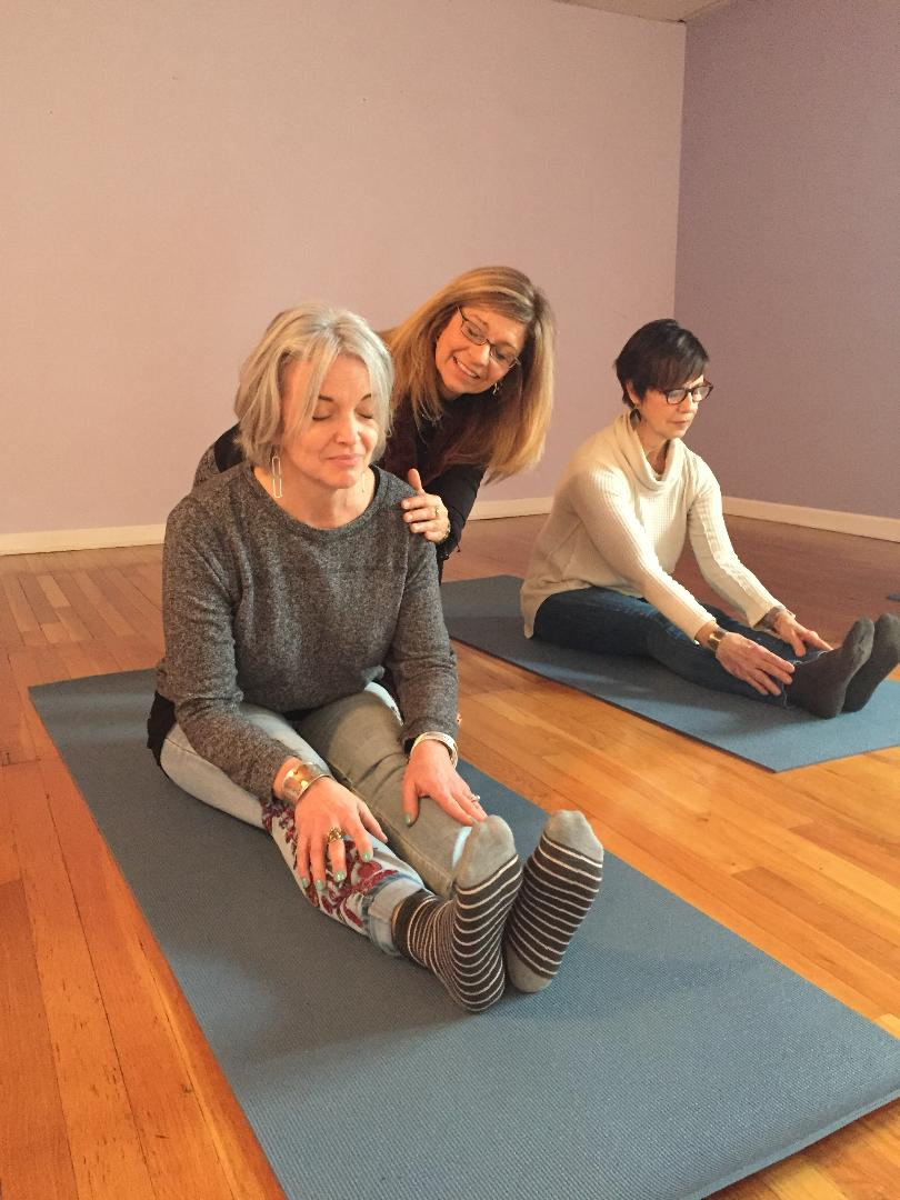 Yoga - Monette Shuttleworth was certified at the internationally recognized Himalayan Institute of Pittsburgh.All levels are welcome.Tuesdays and Thursdays @ 12:00pmFree for members | $5 a class for nonmembers-In Studio Room