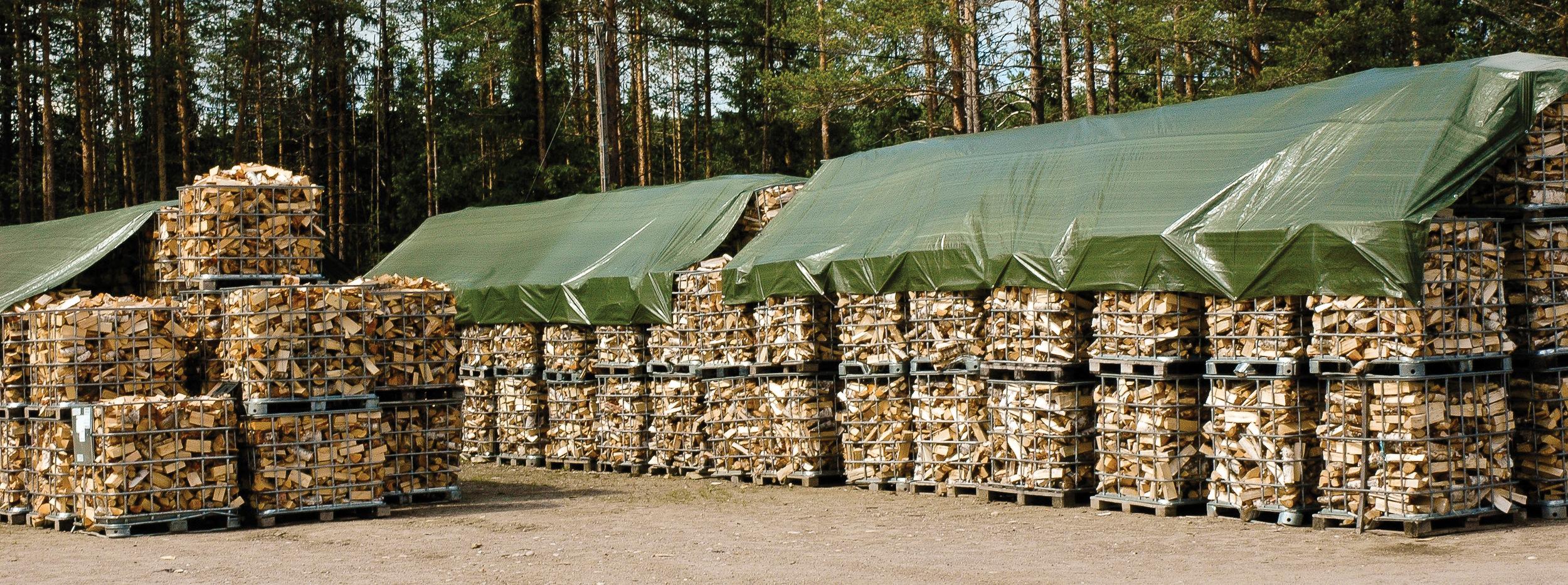 I 2012 var det økt vedforbruk i husholdningene, men mindre bruk av biomasse i industrien. Elverum, Hedmark. Foto: Geir-Harald Strand, NIBIO