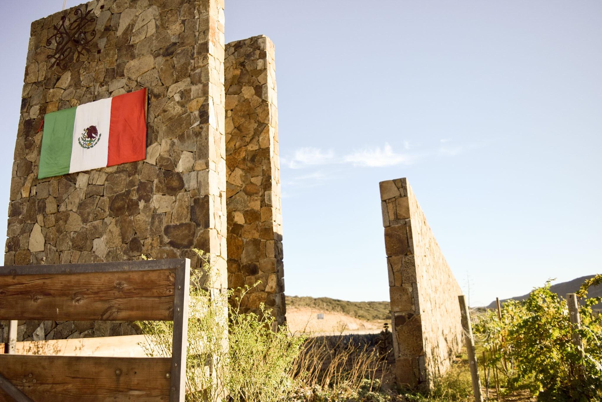 Entrance, Cuatro Cuatros, Ensenada, Mexico