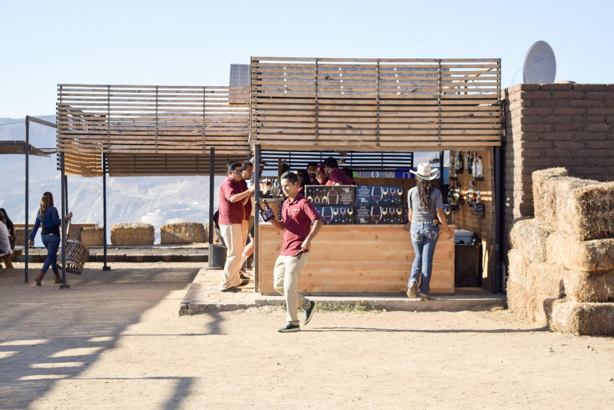 Bar at el Mirador at Cuatro Cuatros