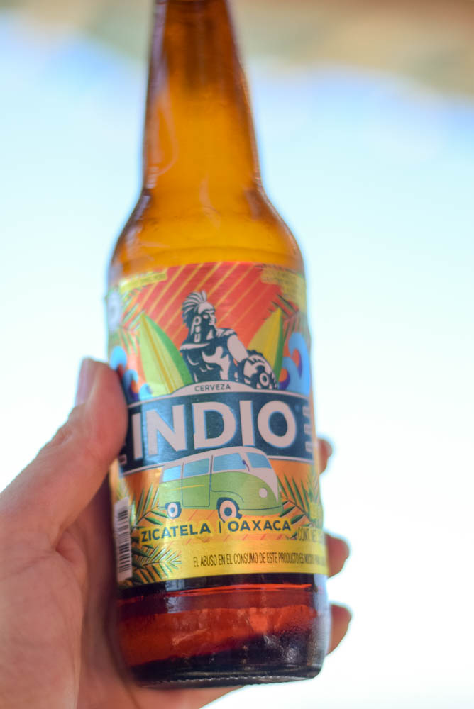 Indio beer for Michelada, Villa Ortega's