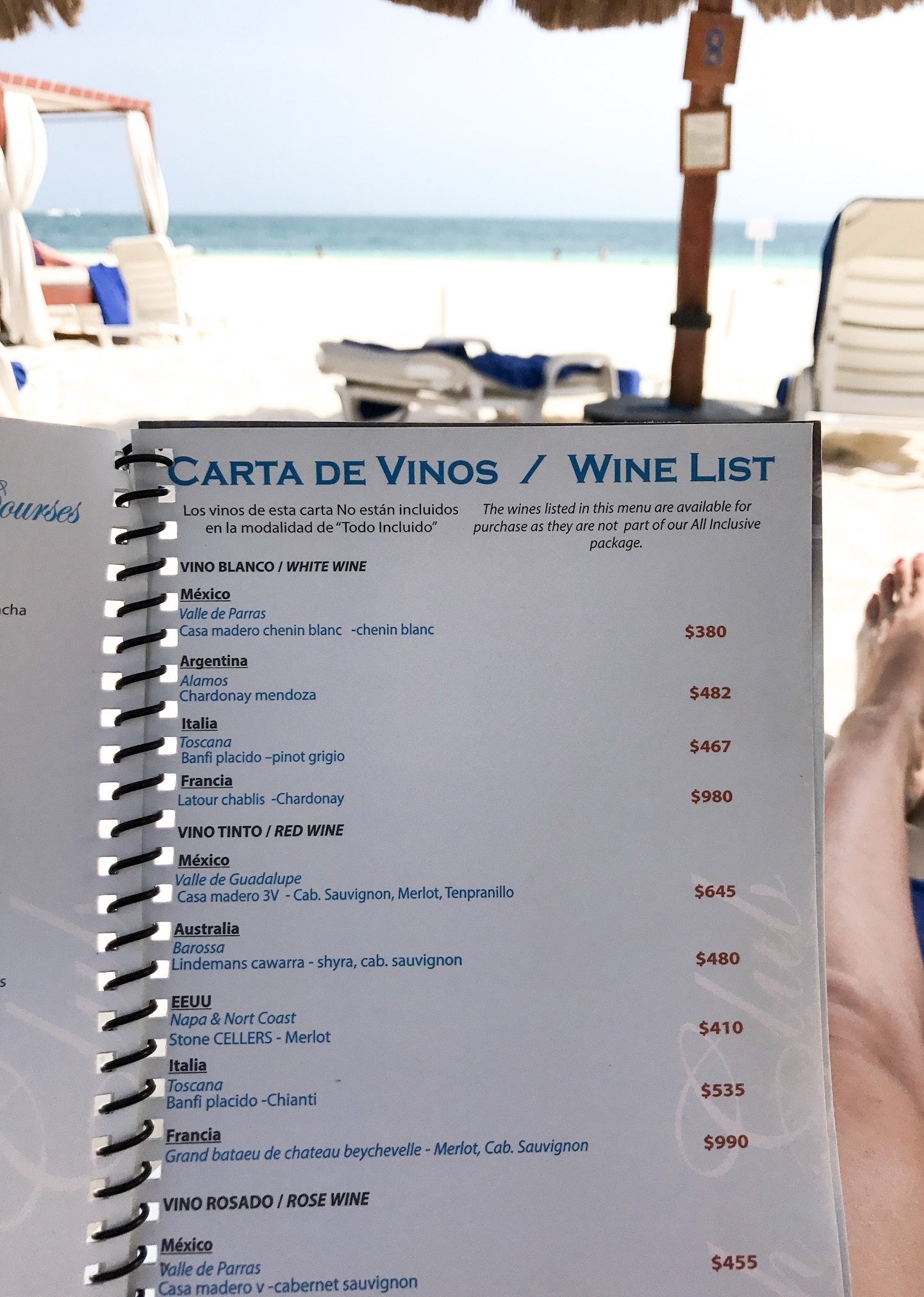 Privilege Aluxes   Isla Mujeres Mexico   With Love Paper and Wine
