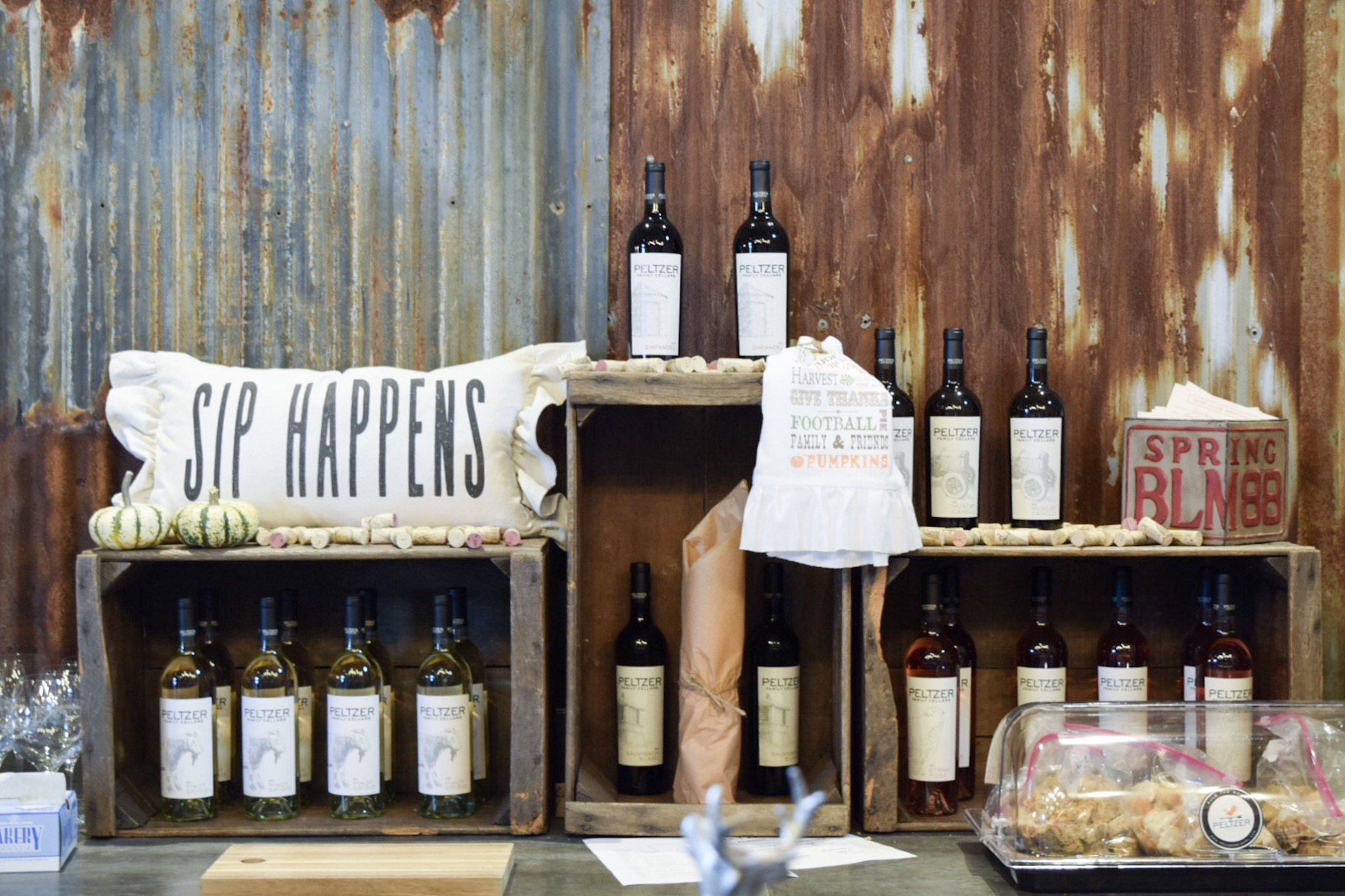 Peltzer Winery Photo by With Love Paper and Wine