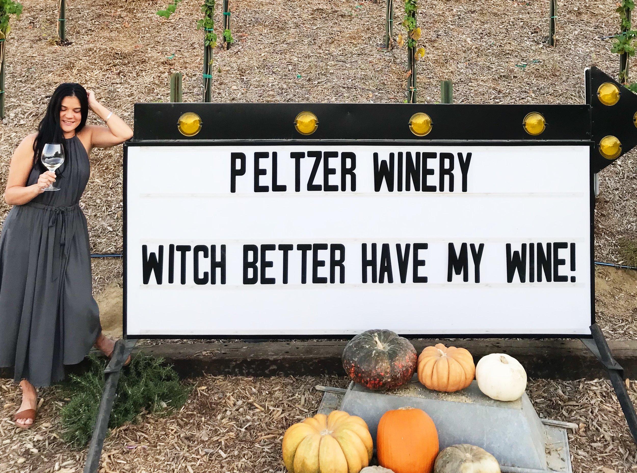 Peltzer Winery