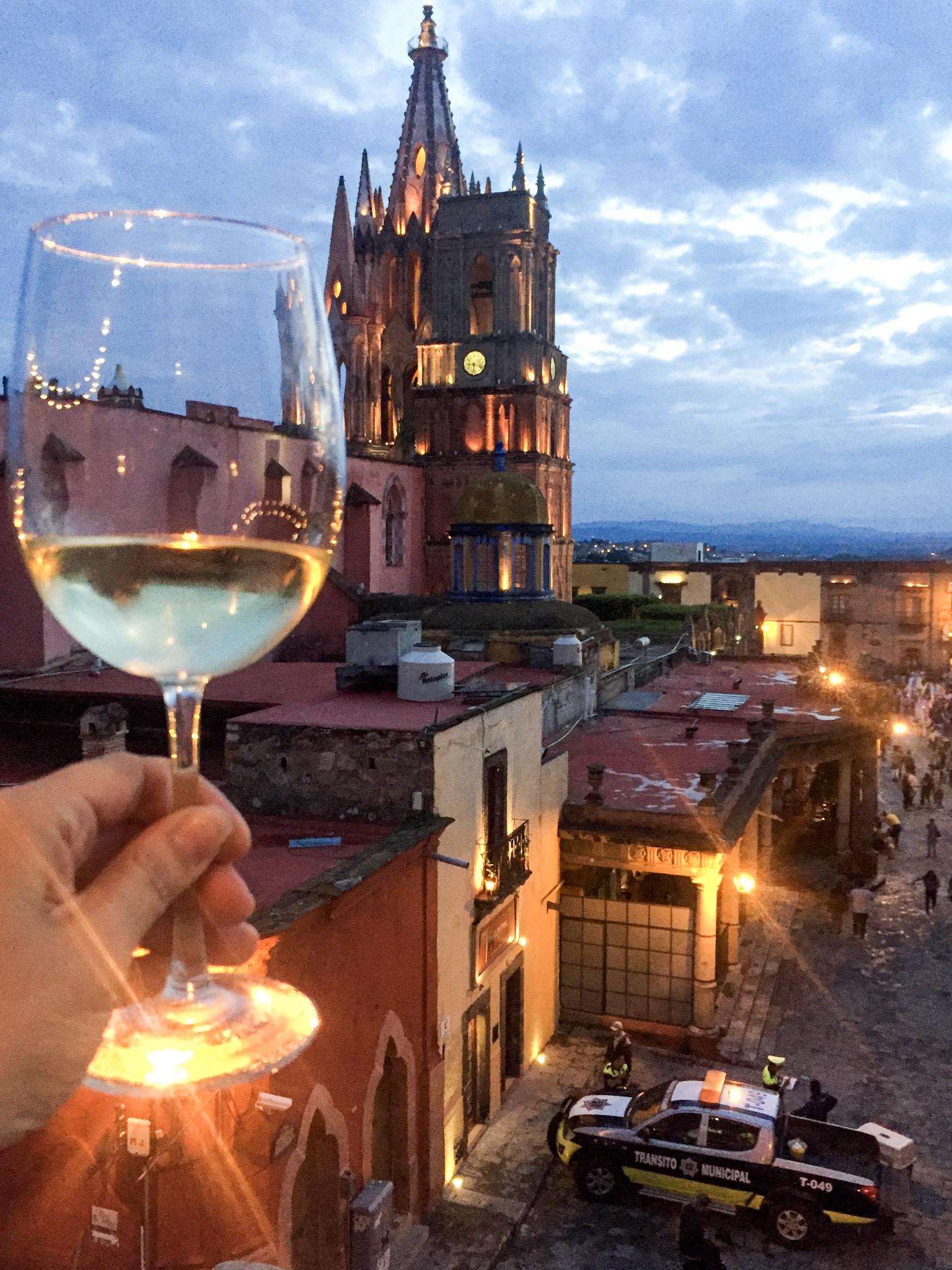 View from El Cielo Rooftop Bar | SMA