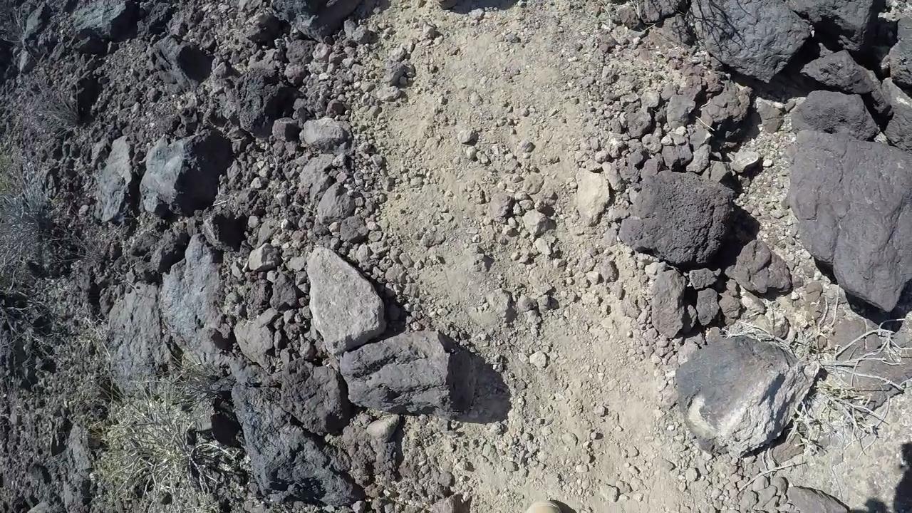 Accumulated Lava Rock