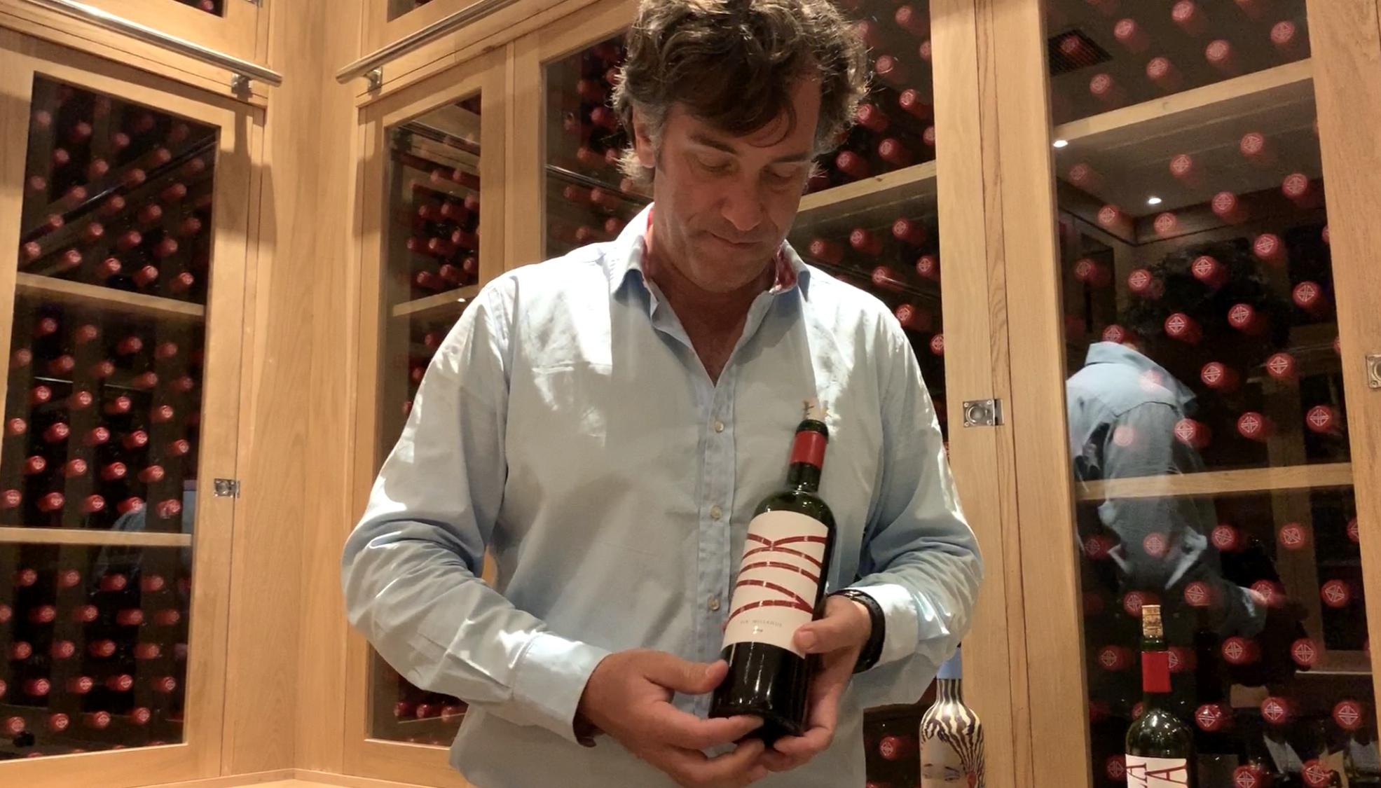 Vina VIK winemaker Cristian Vallejo