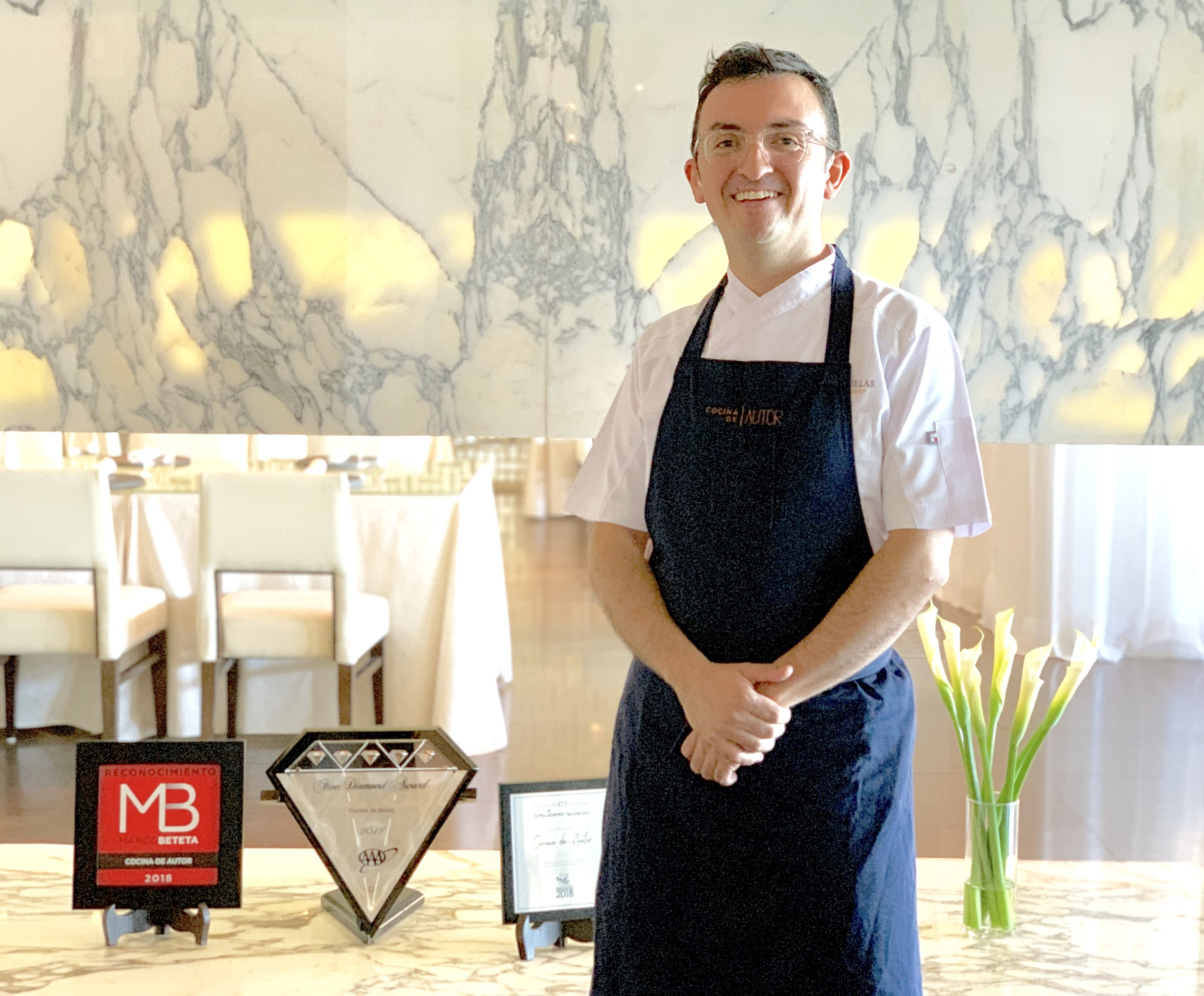 Chef Nahum Velasco Garcia | Executive Chef at Cocina de Autor at the Grand Velas Riviera Maya