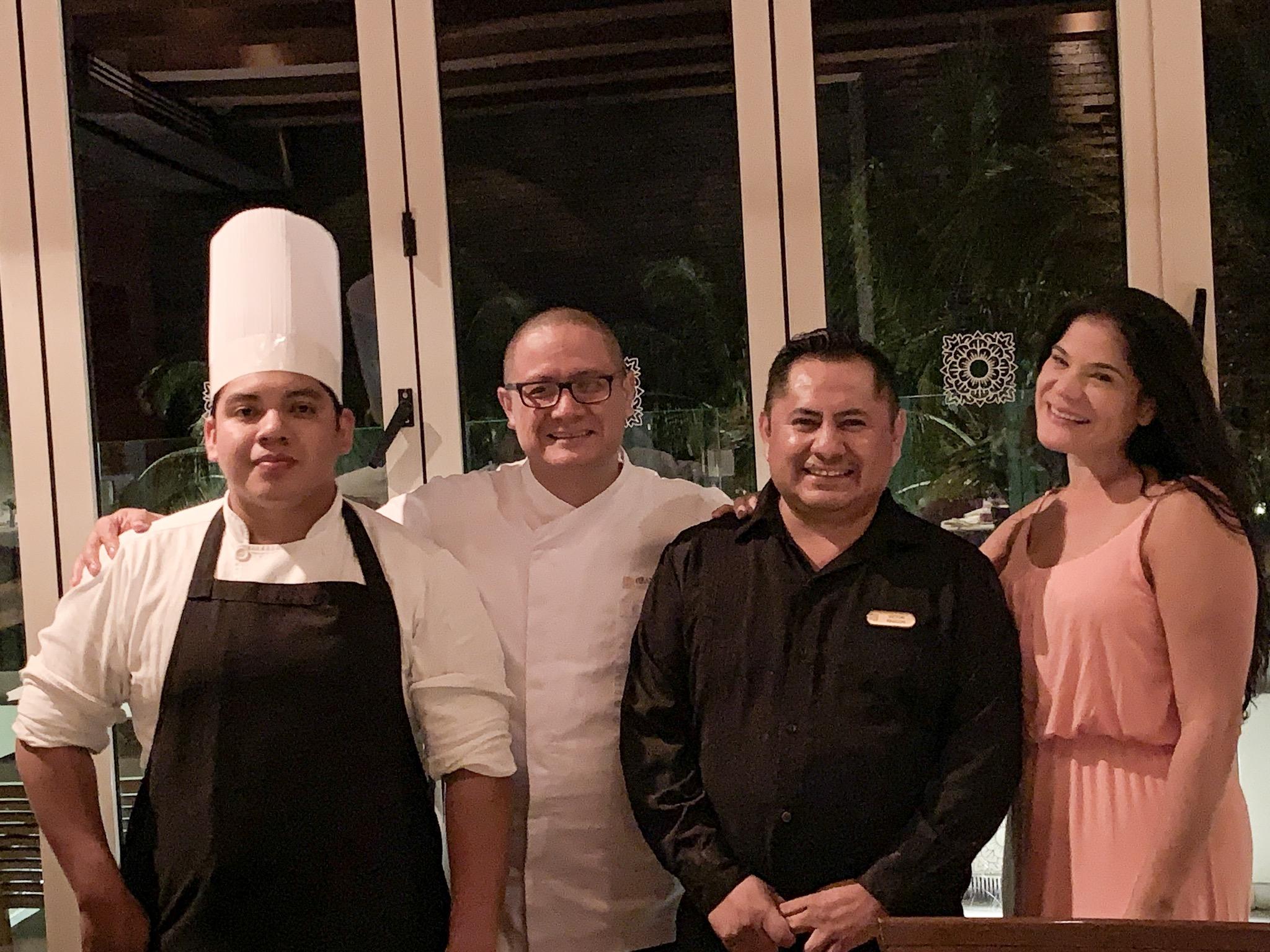 Chef Ricardo de la Vega | Frida Restaurant | Grand Velas Riviera Maya