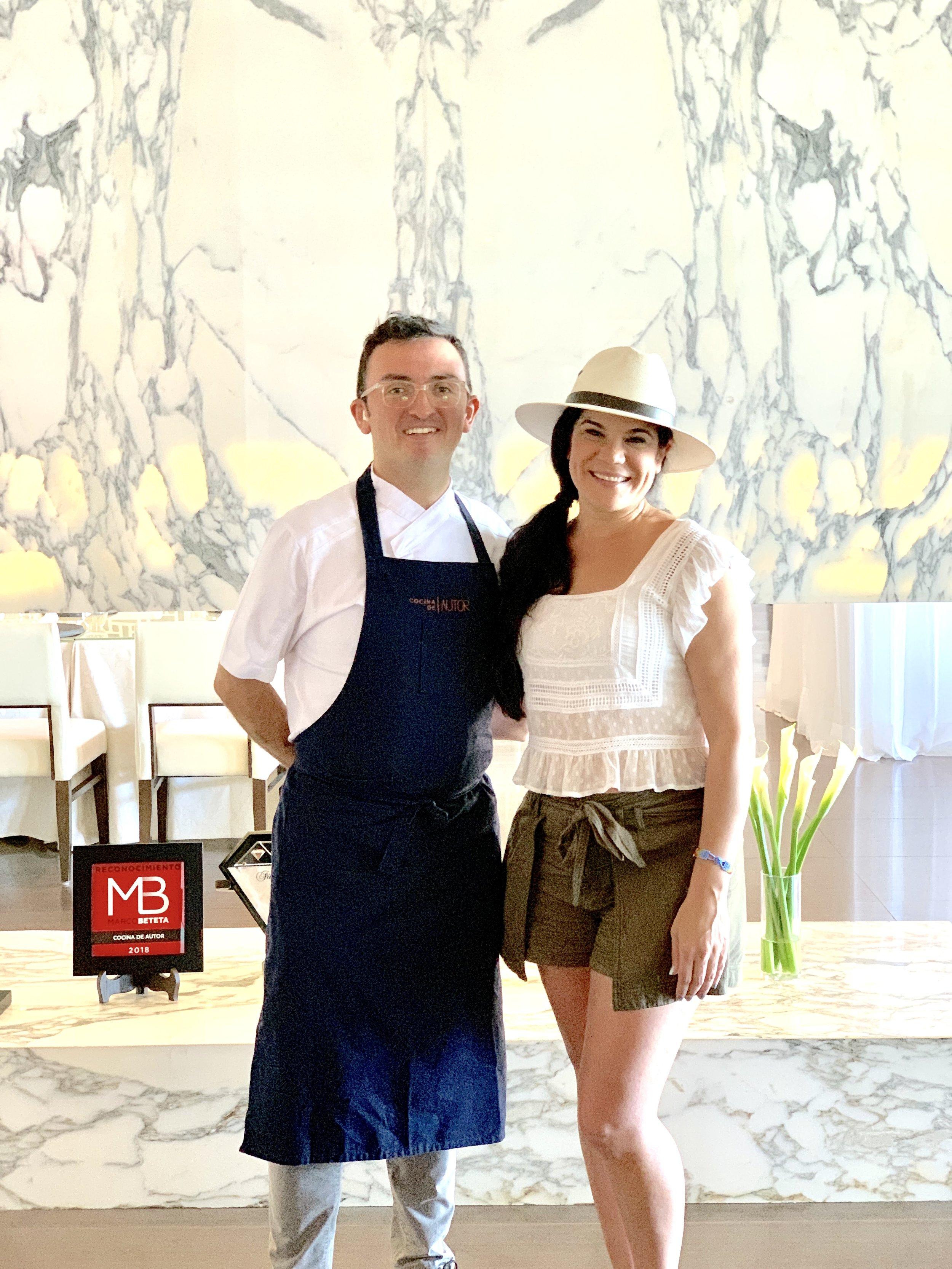 Executive Chef Nahum Velasco of Cocina de Autor at the Grand Class | Grand Velas Riviera Maya