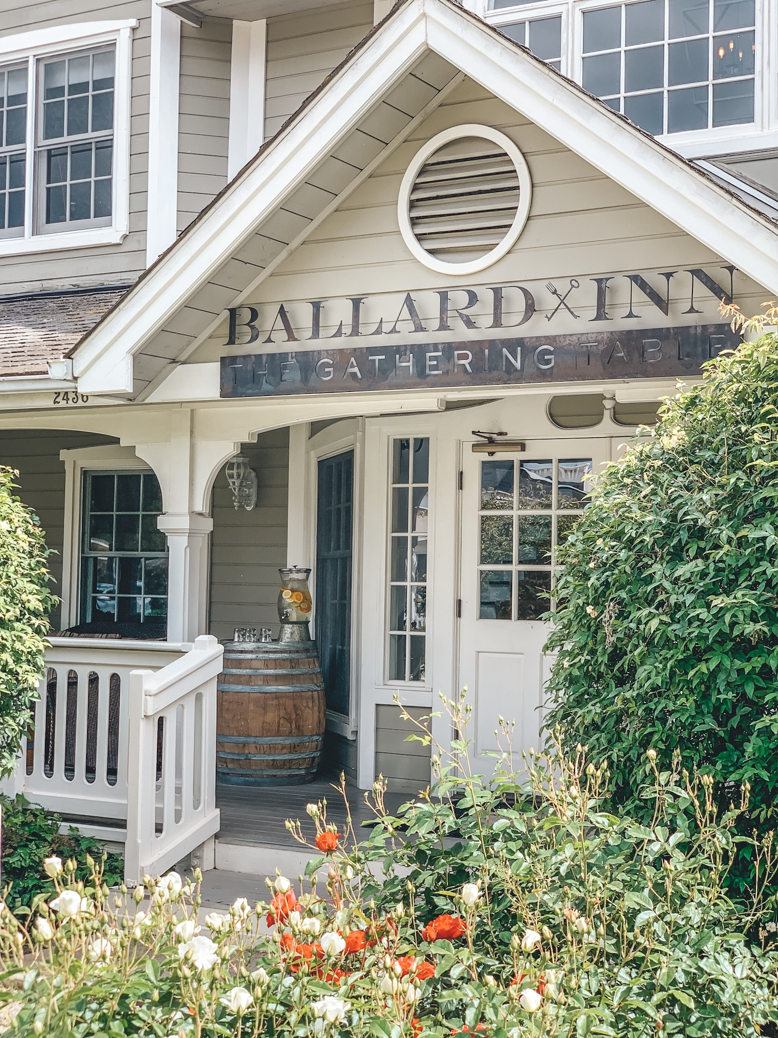 Ballard Inn and The Gathering Table | Santa Barbara Wine Country | Erika Beach