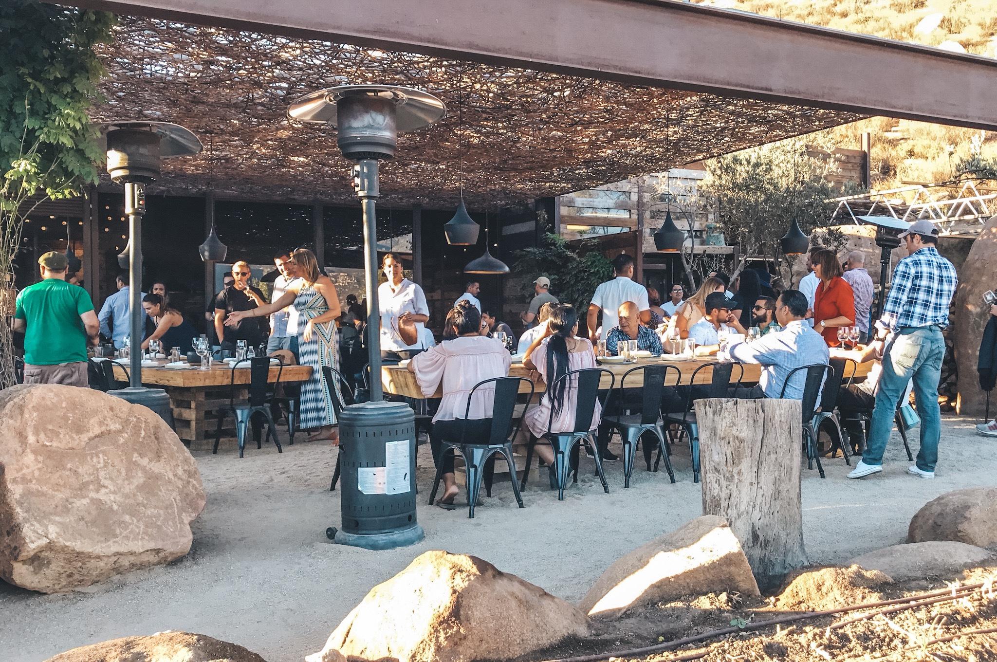Fauna Restaurant at Bruma Winery   Photo by Erika Beach
