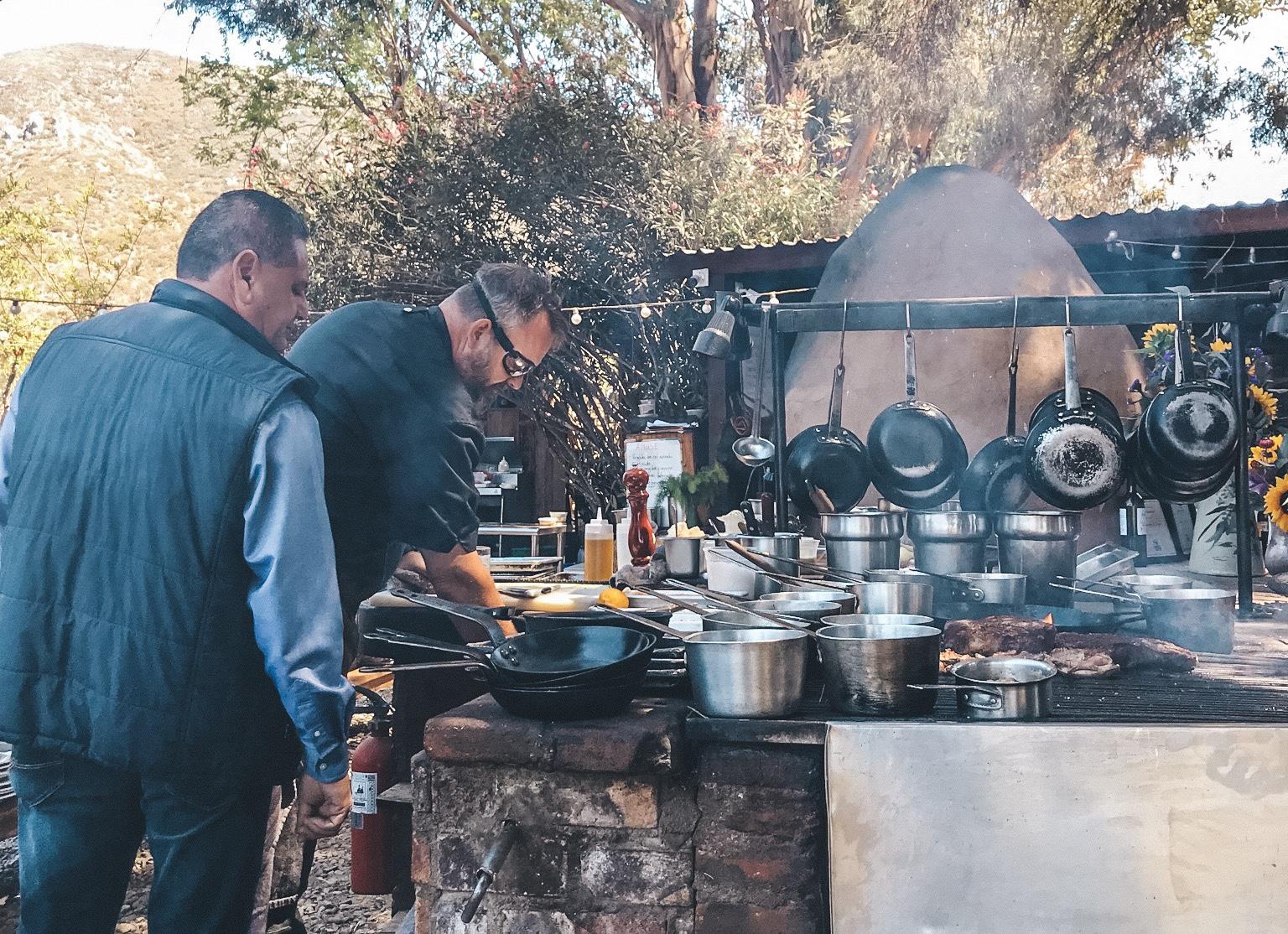 Chef Drew Deckman at Deckman's at El Mogor   Photo by Erika Beach