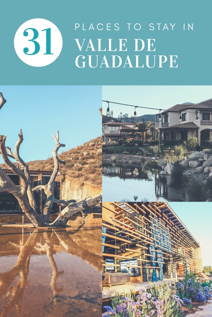 31 Placea to stay at valle de Guadalupe   With Love Paper and Wine