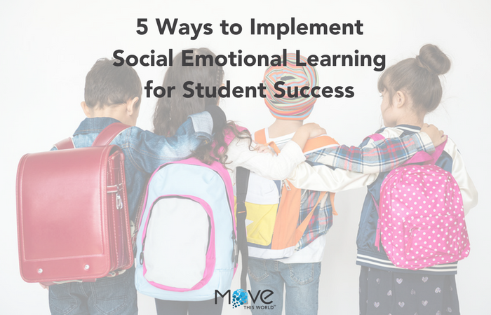 5 Ways to implement social emotional learning in your classroom to contribute to student success