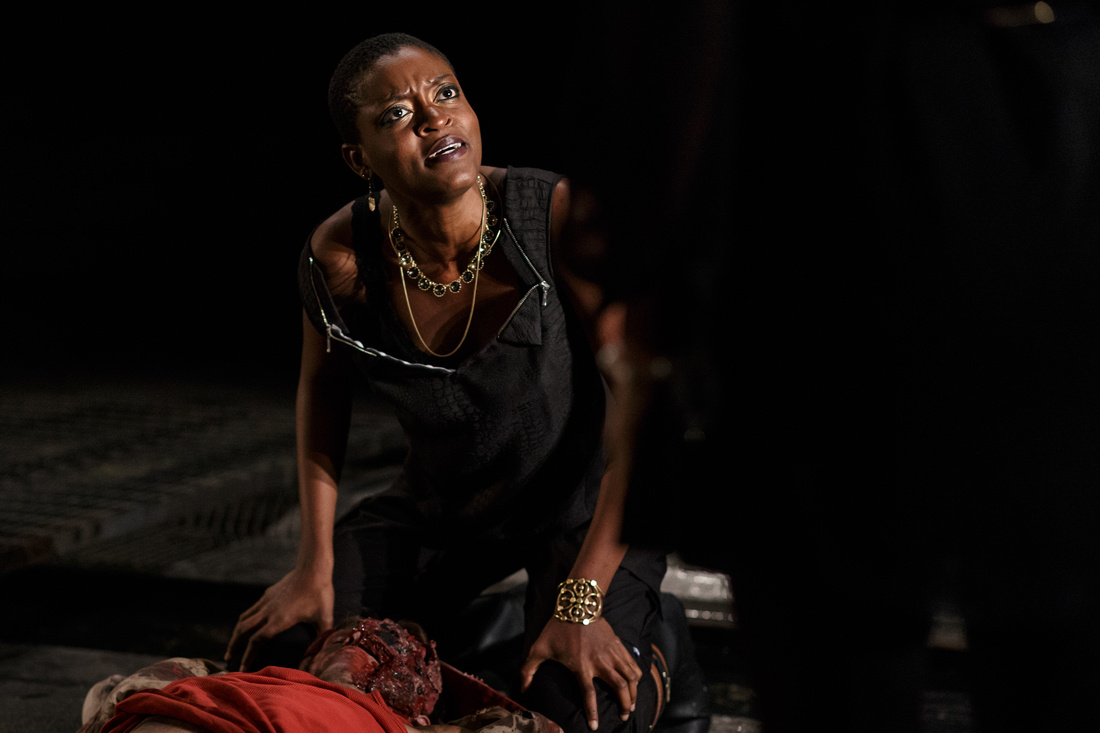Zakiya Markland as Antigone