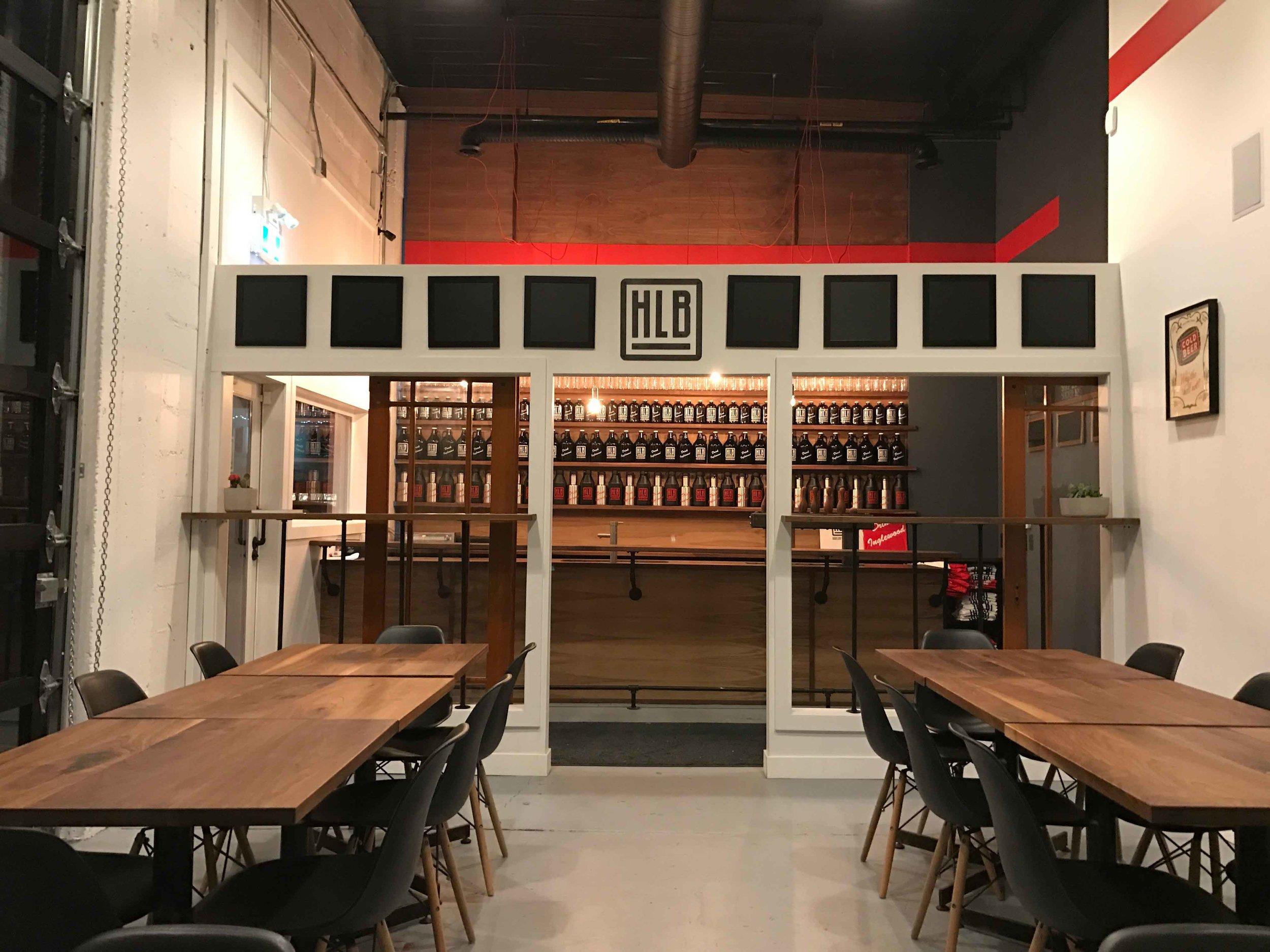 High Line Brewing tap room