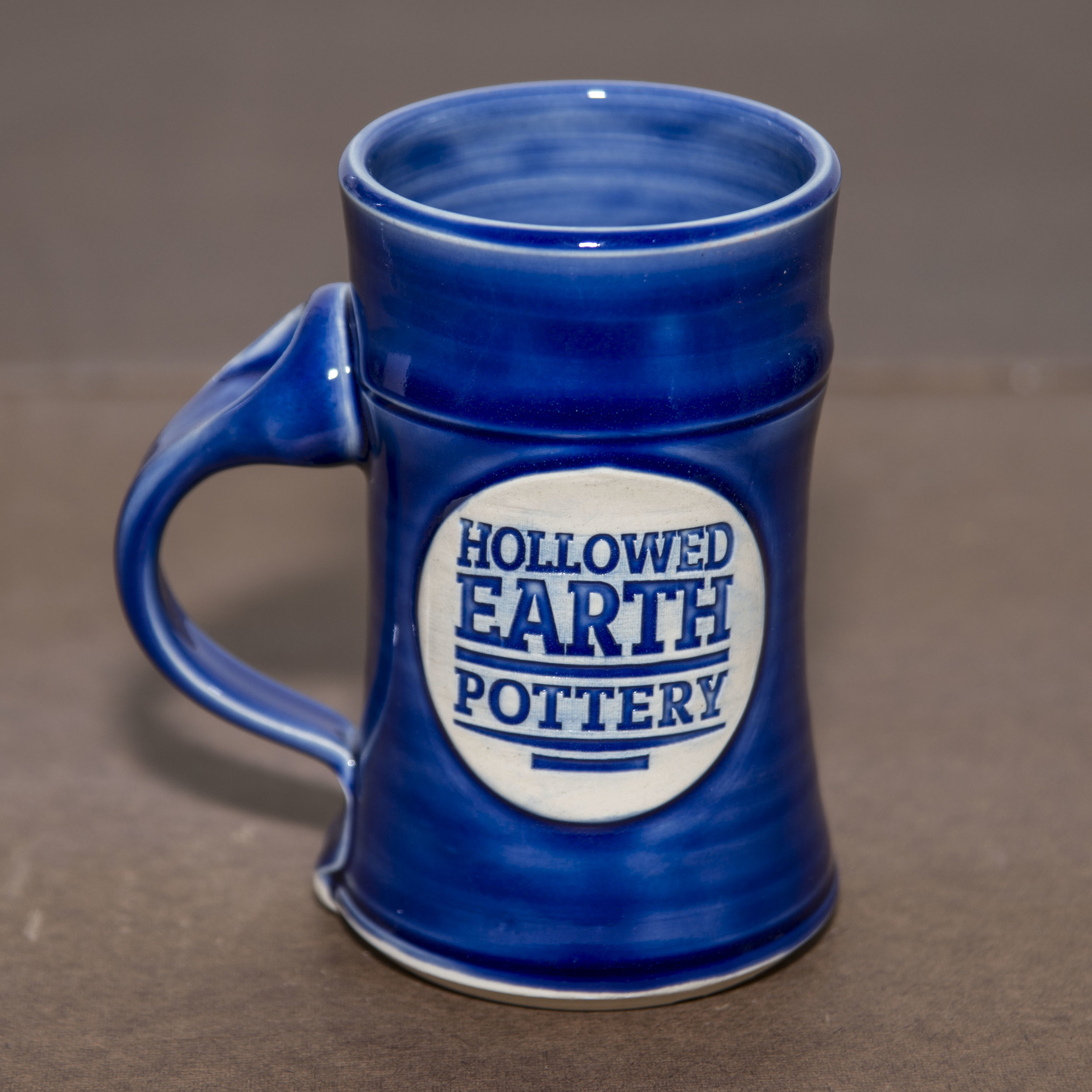 Straight Mug, Royal Blue Glaze