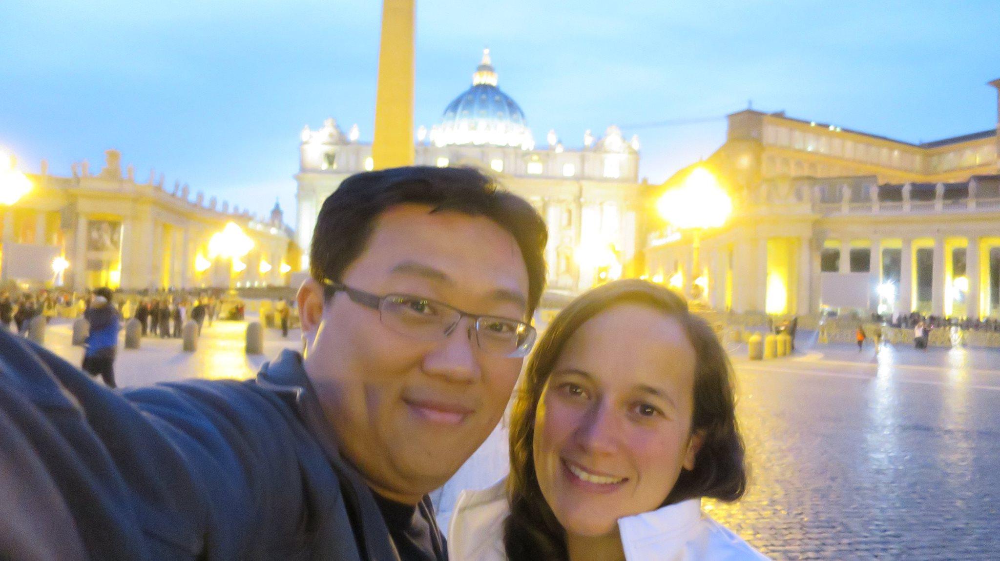 #vaticanselfie