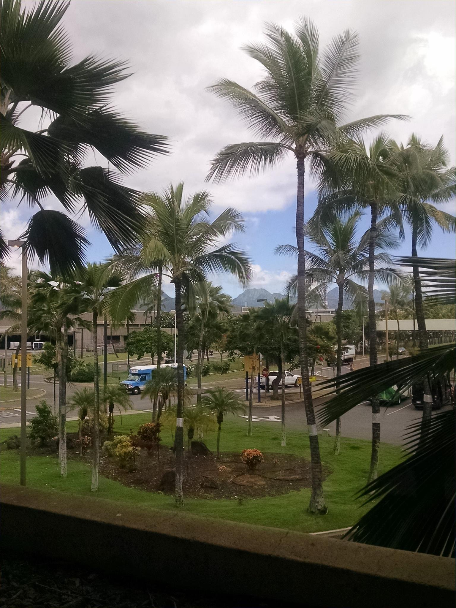 Honolulu...almost home