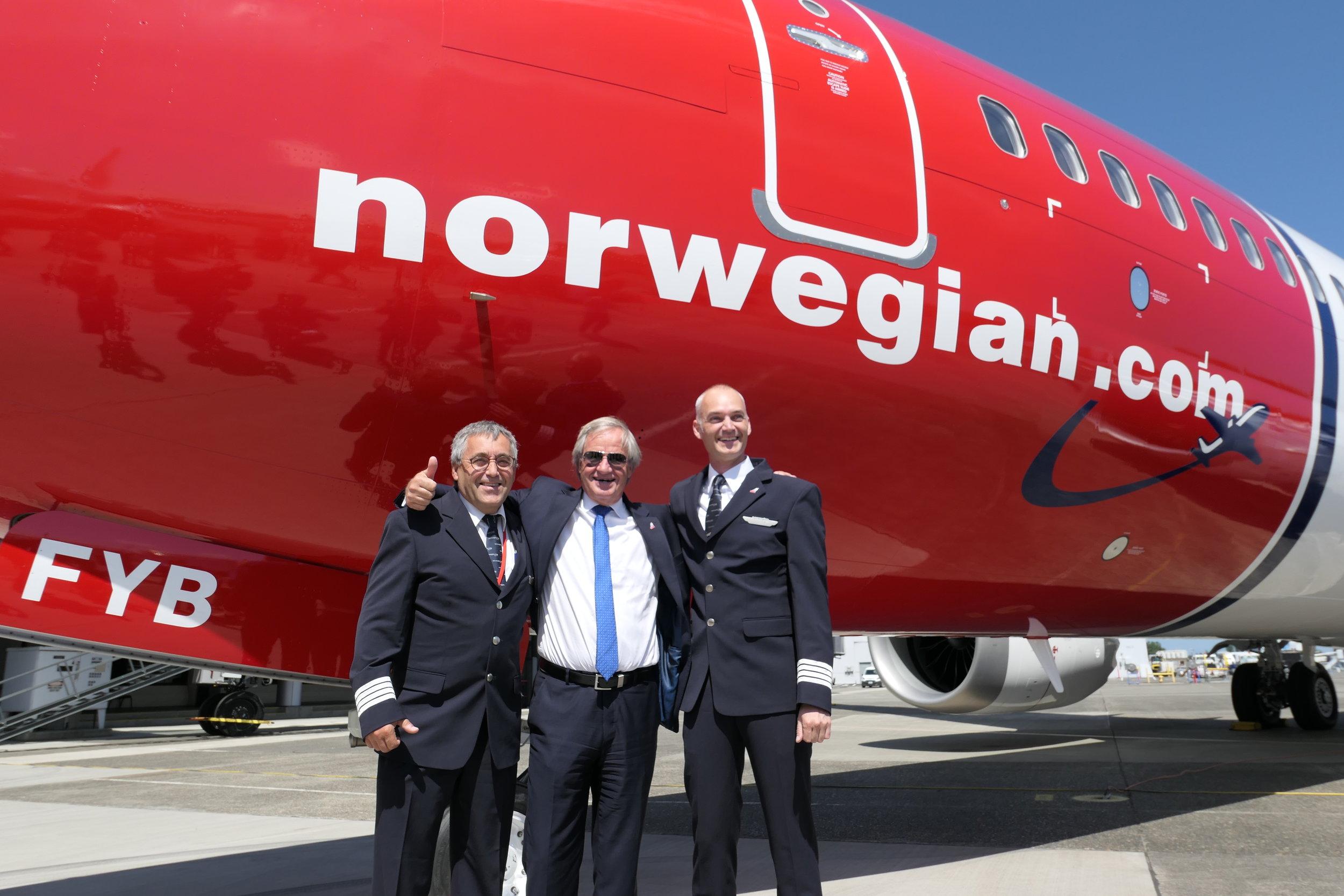 CEO of Norwegian,Bjørn Kjos