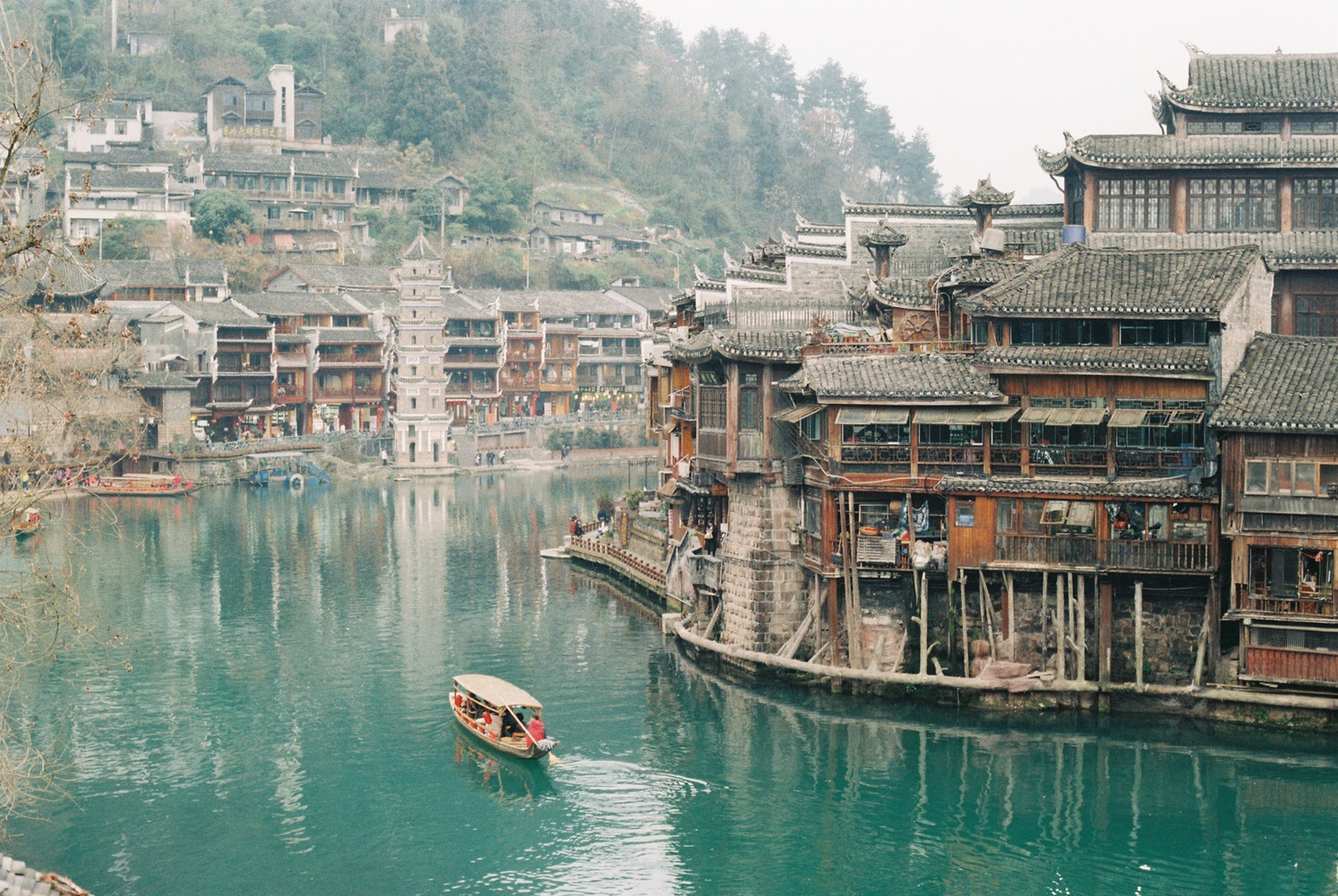 Day 7: Fenghuang - This incredibly preserved and beautiful ancient town will certainly charm you. Stroll the river banks, take a boat ride and enjoy every nook and cranny on the charming streets. To top it off, the food here is as delightful as the views.