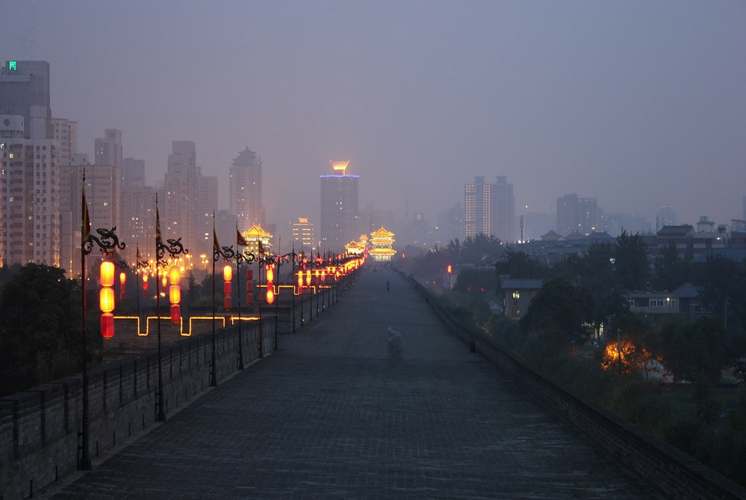Day 11: Xi'an - Travel to this diverse ancient Capital by high-speed train. Stroll or cycle along the ancient city walls, potter around the beautiful Muslim quarter, take in the lights by night and channel your inner artist in this creative and special City.