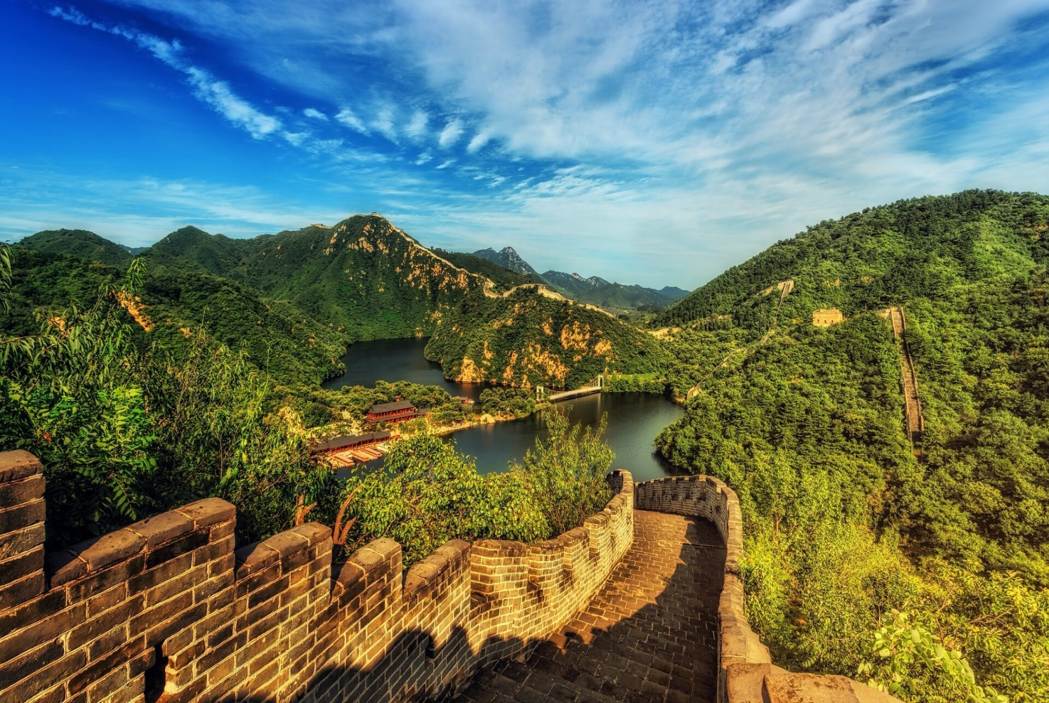 Day 4: The Great Wall - Seeing really is believing with China's Great Wall. Walk and climb your way up and down this magnificent structure, looking out across the deeps and shades around you like all that have come before, going back thousands of years.