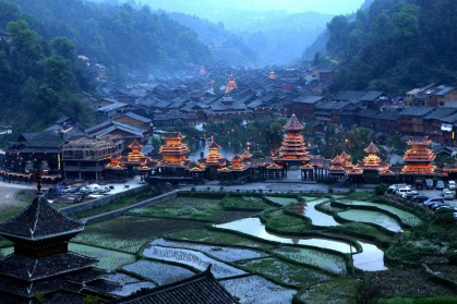 Day 4: Zhaoxing Dong Village - Zhaoxing is one of Guizhou's oldest Dong minority villages, and therefore boasts a staggering number of wooden-stilt houses to admire. Picturesque and surrounded by gorgeous scenery, Zhaoxing is a village unlike anything you'll have seen before.