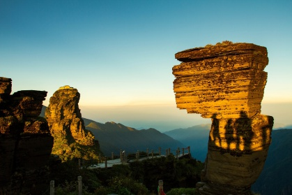 Day 6: Fanjingshan - Visit one of China's most recently awarded UNESCO World Heritage sites- the sublime Fanjingshan (Fanjing Mountain). Reach the summit and look out across one of the most bio-diverse regions in China.