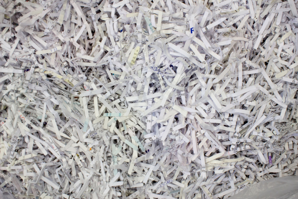 SECURE SHREDDING    LEARN MORE