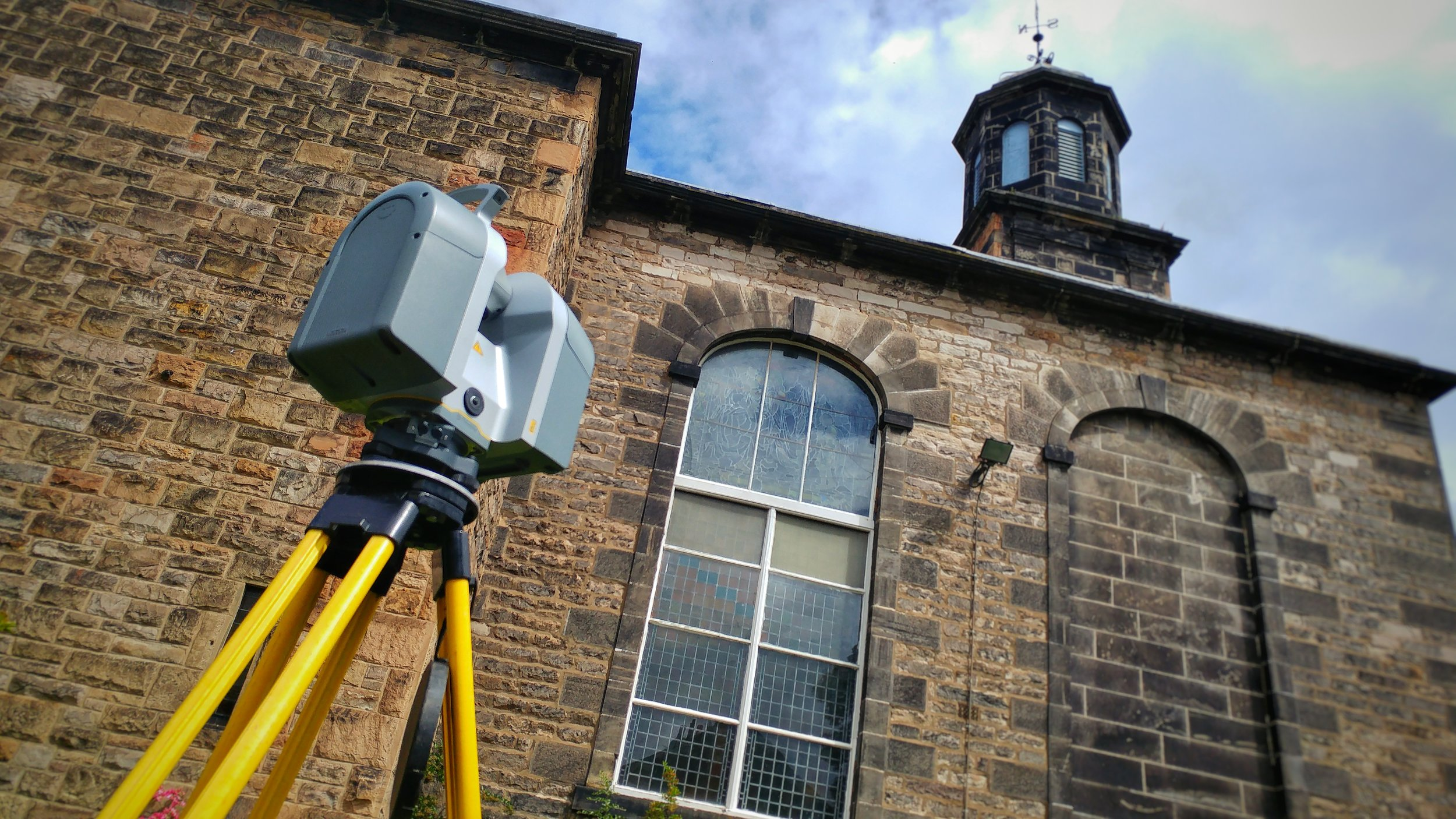 Three floor plans, six elevations, a topographical survey and a roof plan: all delivered ustilising Trimble 3D scanning technology and a drone.