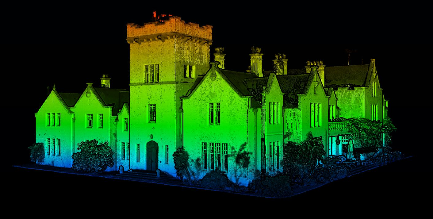 3D Laser Scanning and Point Cloud Modelling - the New Era of
