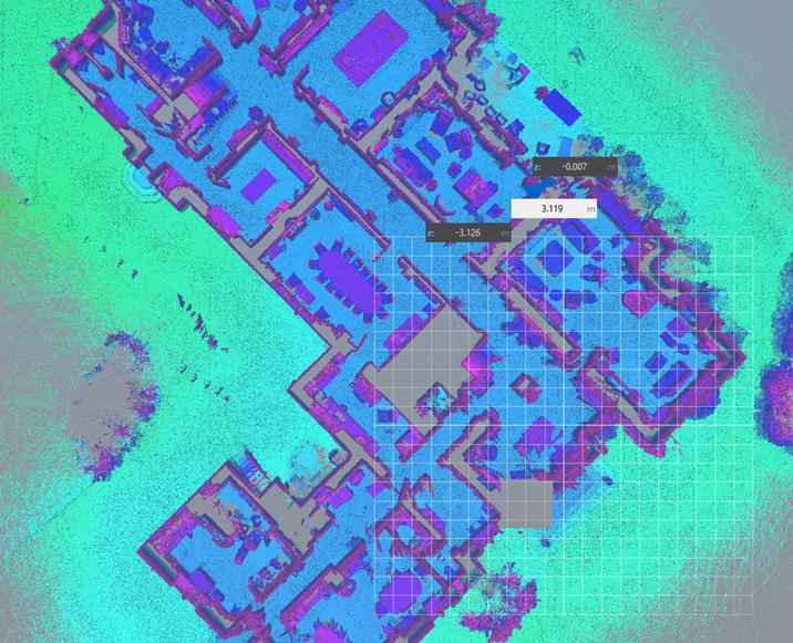 Floor plan : Point Cloud Slice