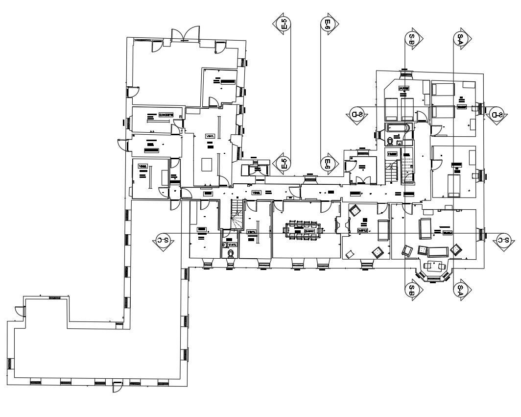 Measured Building Floor Plan