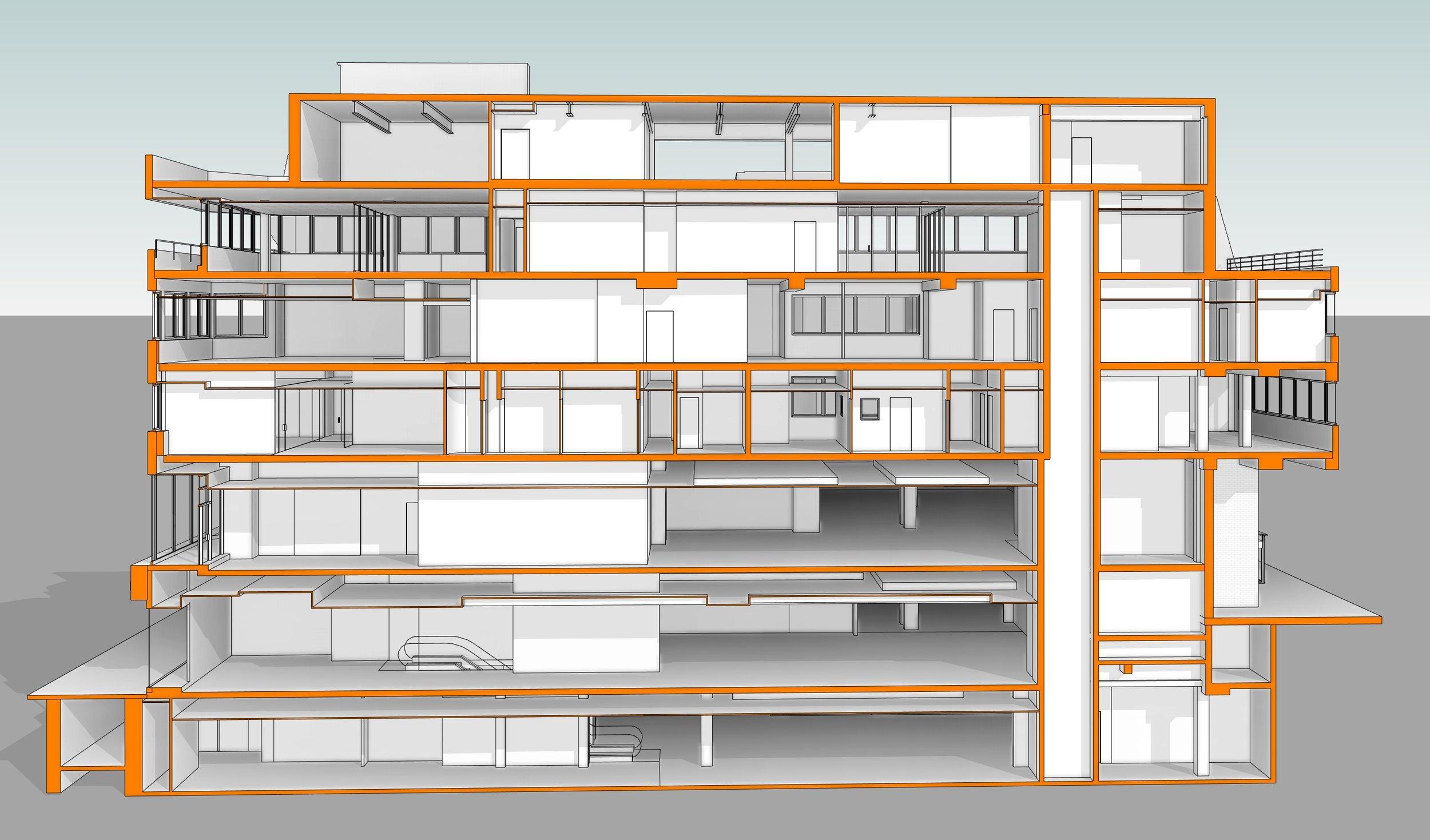 Autodesk Revit 3D View - Measured Building Survey.jpg