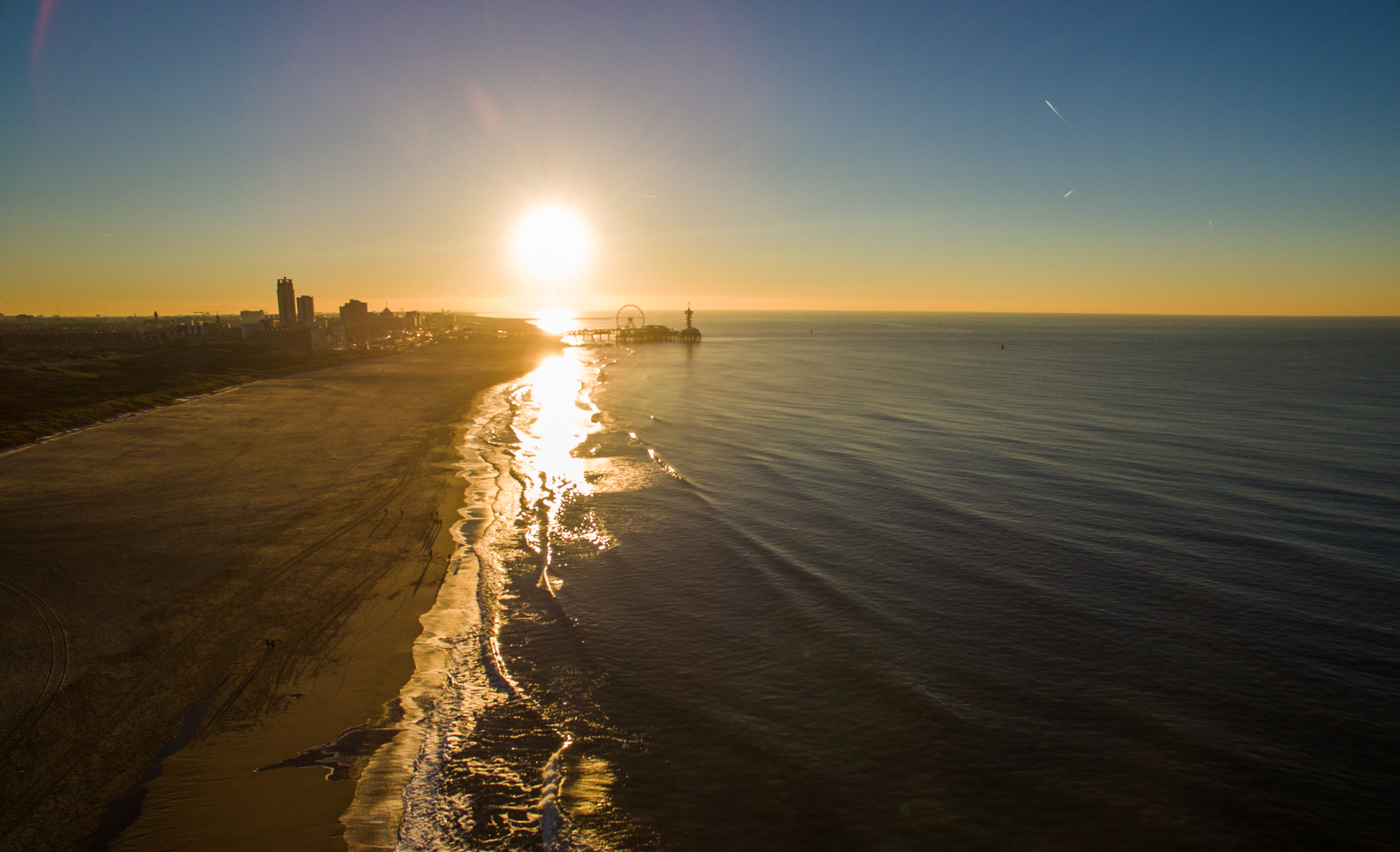 Sunset at Scheveningen