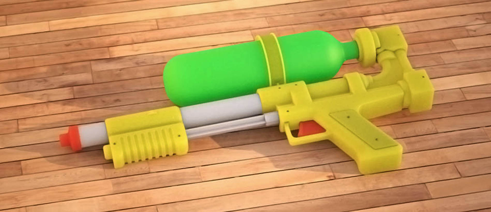 Super Soaker render