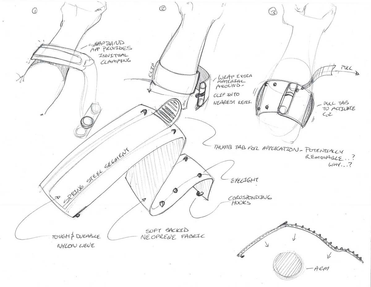 Concept Sketches - Wristband