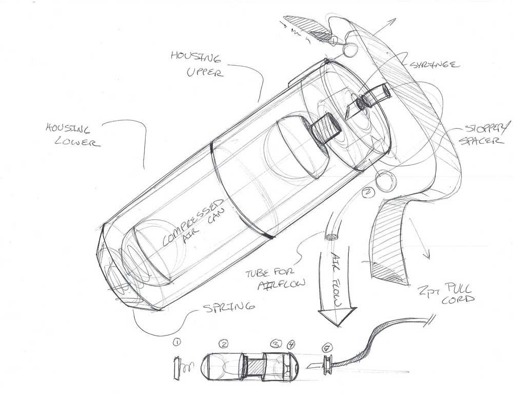 Industrial Design - Concept Drawings