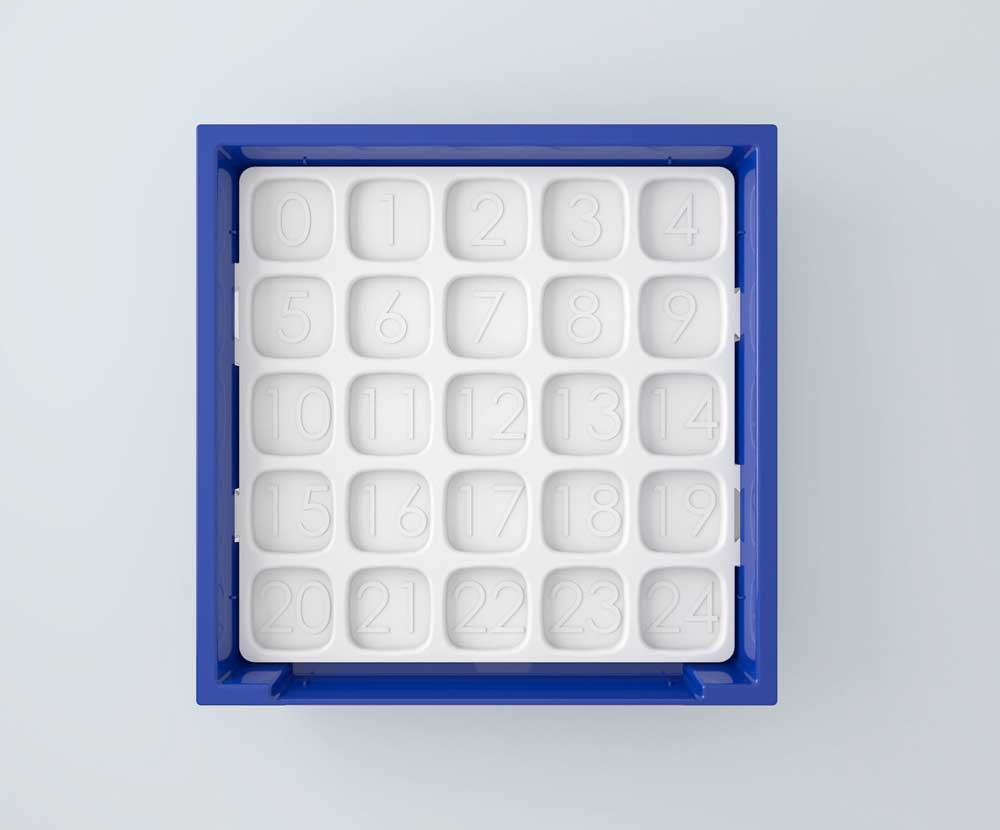 High-Res Rendering of Organizer Tray