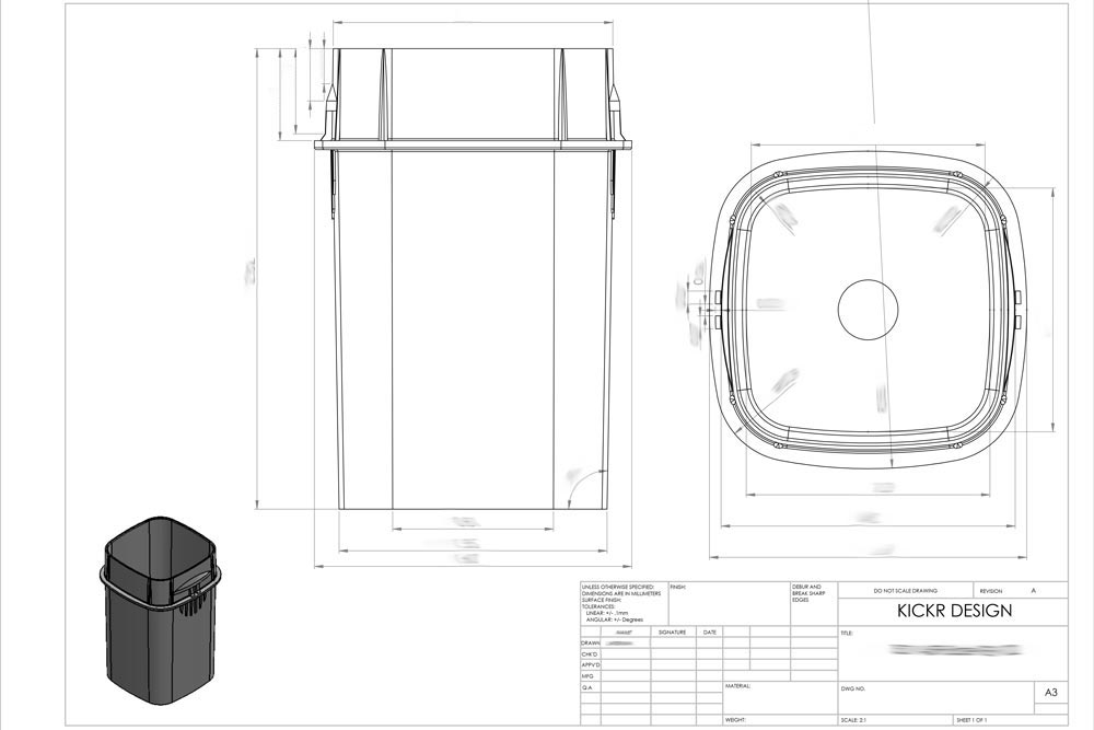 Manufacturing Drawings & Drafts