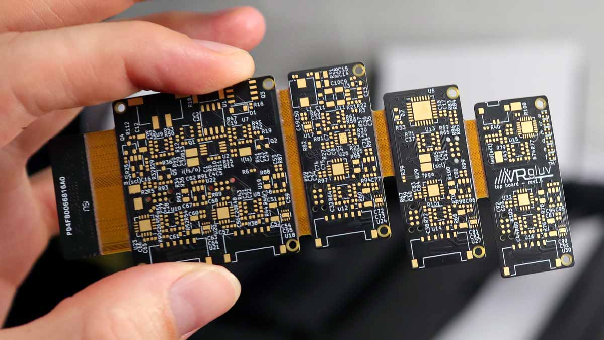 vrgluv pcb unpopulated
